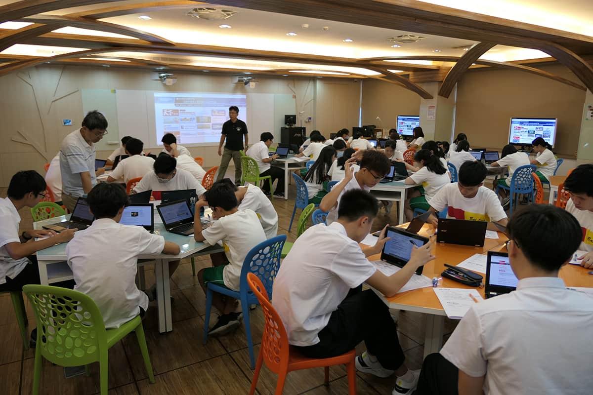百齡高中數位化教室